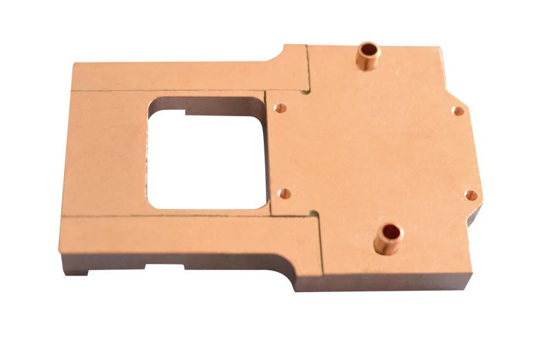 copper cooling block