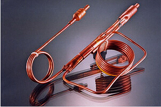 copper capillary assembly