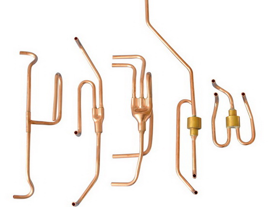 copper pipe assembly